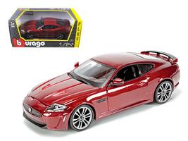 Jaguar XKR-S Burgundy 1/24 Diecast Car Model by Bburago - $33.00