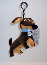 The Secret Life of Pets Buddy the Dachshund Dog Plush Clip – On - $12.00