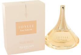 Guerlain Idylle Eau Sublime Perfume 3.3 Oz Eau De Toilette Spray image 6
