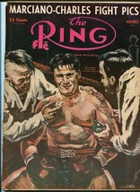 RING MAGAZINE-11/1954-BOXING-OLSON-MARCIANO-COCKELL!!! VG - $43.46