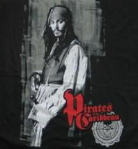 Pirates of the Caribbean Johnny Depp Black Babydoll Shirt NEW UNWORN - $14.50