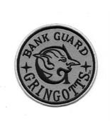 Harry Potter Gringotts Bank Guard Embroidered Patch Universal Studios NE... - $7.84