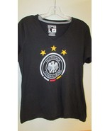 Adidas Climalite Ultimate Tee t Shirt Women's  L Large Deutscher Fussbal... - $7.99