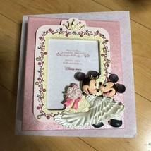 Disney Mickey & Minnie Mouse Wedding Dreams Figure Photo Frame & Photo Album  - $58.41