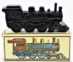 Avon Decanter CANNONBALL EXPRESS 4-6-0 TRAIN Deep Woods After Shave 1976... - $18.69