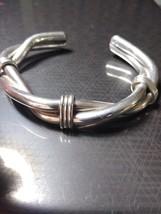 Heavy 925 Mens Handmade Silver Cuff - $250.00