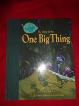 A BUG'S LIFE storybook + Happy Meal toys Quest for One Big Thing Disney/Pixar + - $20.00