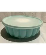 Vintage Tupperware Jello Mold #1201-#1202-#1203..Mint green with insert ... - $9.89
