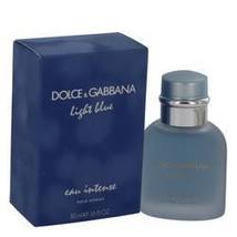 Light Blue Eau Intense Cologne By Dolce & Gabbana 1.7 oz Eau De Parfum Spray For - $71.41