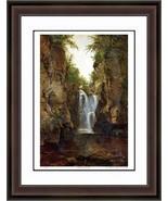 "John Frederick Kensett ""Bash Bish Falls"" Print - Hudson River School Ltd Ed - $405.00"