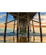 Pier Pilings at Newport Beach, CA, Fine Art Photos, Paper, Metal, Canvas... - $40.00 - $442.00