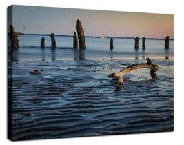 An item in the Art category: Driftwood And Sandbars Fine Art Canvas & Unframed Wall Art Prints