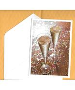 Palm Press Happy New Year  holiday gold party glasses confetti 10 boxed ... - $15.77