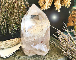 Haunted FREE W $75 LARGE SUPER BLOOD BLUE SUPER MOON CRYSTAL CHARGING MAGICK  - $200.00