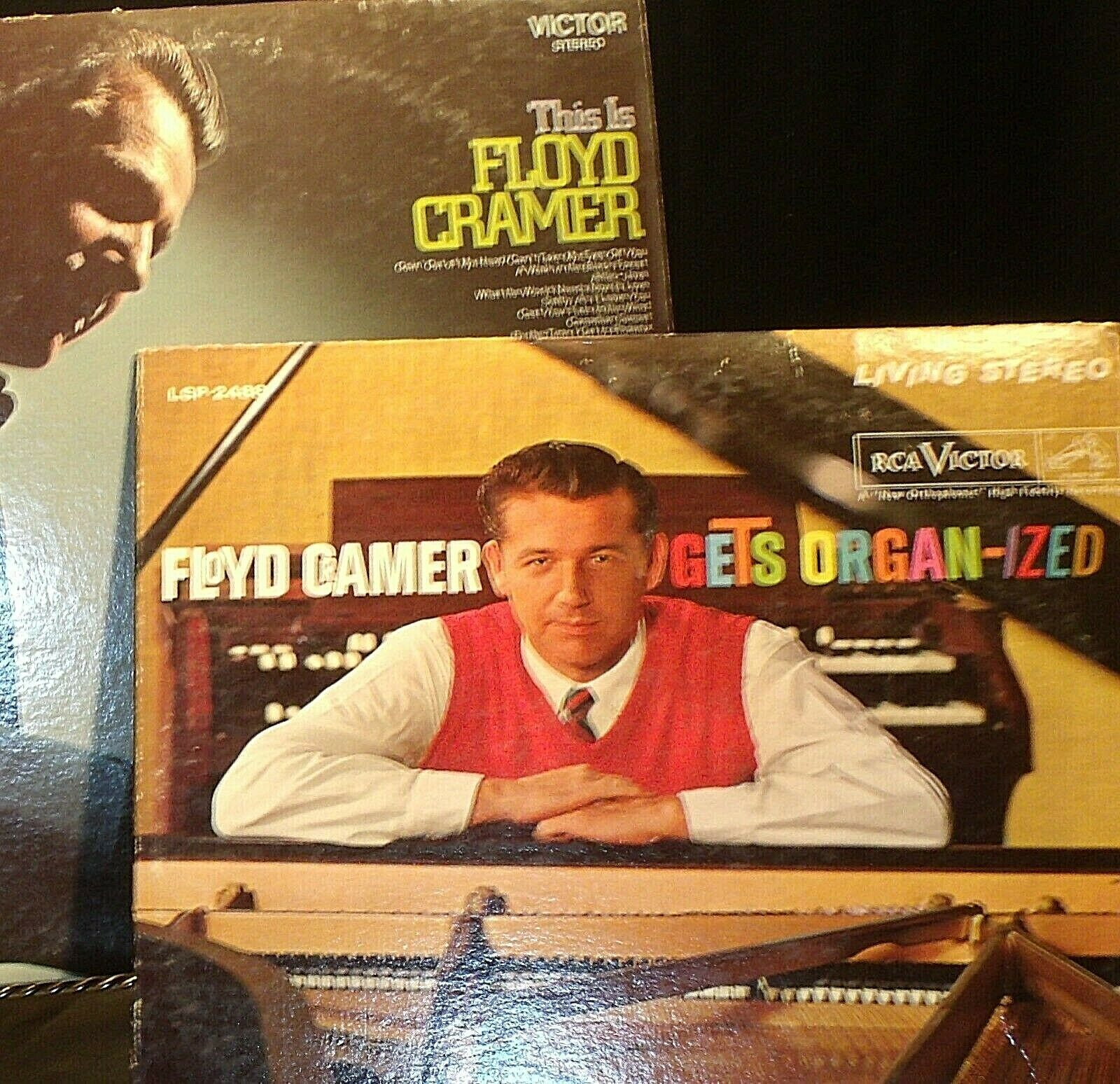 This Is Floyd Cramer RCA  Floyd Cramer gets Organ-ized AA20-RC2108 Vintage