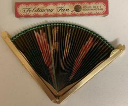 Foldaway Fan No. 104 Keep Cool and Be Gay Box   - $18.69