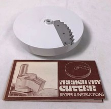 Oster Regency Kitchen Center Food Processor FRENCH FRY Disc Blade Repl Part - $6.85