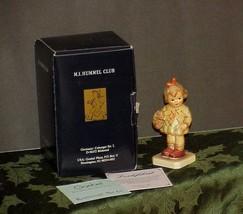 "Hummel #479 ""I Brought You A Gift"" Figurine Girl & Basket Tmk 7 Mib Coa - $24.74"