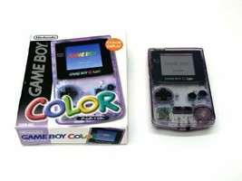 Game Boy Color (Clear Purple) [End Product Manufacturers] - $56.06