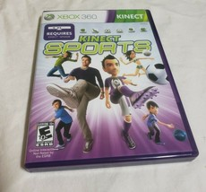 Kinect Sports (XBOX 360 Simulation) Complete CIB Video Game Rareware Mic... - $9.85