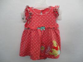 Disney Size 3-6 Months Girl's 100% Cotton Pink Polka Dot Dress - $20.00