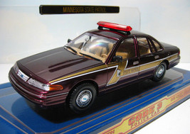 1998 Ford Crown Victoria P71 - Minnesota State Police Car & Patch  1:24 ... - $18.50