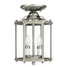Sea Gull Lighting 5232-962 Bretton Two-Light Semi-Flush Convertible Pend... - $94.34