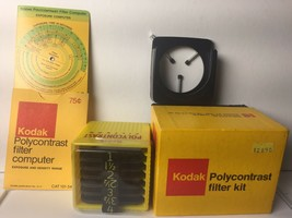 Kodak Polycontrast Filter Kit Model A, Original Box, CAT 153 8032 - $7.16