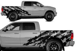 Vinyl Decal Nightmare Wrap Kit for Chevy Silverado 1500//2500 2014-17 Truck WHITE