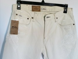 Polo Ralph Lauren Men's Sullivan Slim Denim Distressed J EAN S Size 32X30 Nwt - $83.22