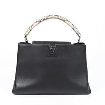 Louis Vuitton Capucines MM Taurillon Python Handbag - $3,260.00