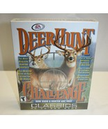 RARE EA Sports Deer Hunt Challenge 3D Video Game PC CD-ROM w/ BOX, GUIDE... - $69.29