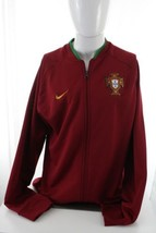 Nike Portugal Wine Red Mens Long Sleeve Athletic Sweatshirt Size XL Extr... - $28.70