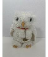 Harry Potter Mattel Hedwig white owl plush Nimbus 2000 charm red yellow ... - $9.89