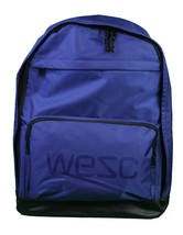 WeSC We Superlative Conspiracy Cullen Deep Ultramarine Blue Backpack School Bag image 2