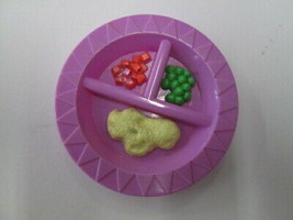 Mattel 2004 Baby Alive divided dish dinner plate REPLACEMENT - $9.85