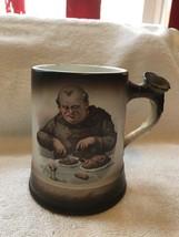 "Homer Laughlin Monk Mug-staghorn Handle-4 1/2""- - $25.00"