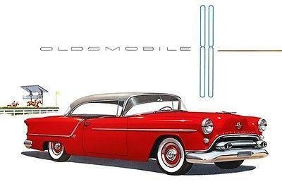 Primary image for 1954 Oldsmobile 88 Holiday Coupe - Promotional Advertising Poster