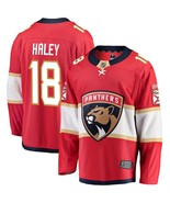 Men's Micheal Haley #18 Player Jersey Sewn on Florida Panthers 2018 Red New - $75.19
