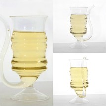 2pcs 300ml Creative Straw Mug Glass Vampire Wine Cup Tube Party Home Gob... - $20.56