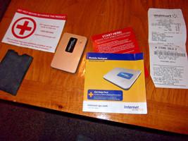 WALMART  MOBILE MIFI 2200 BROADBAND HOTSPOT TO GO with Cable + SLEEVE - $29.50