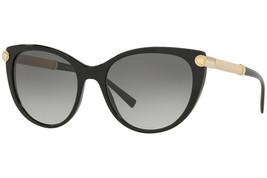 Versace sunglasses VE4365Q  529911 54 Black Grey Gradient Cateye - $405.90
