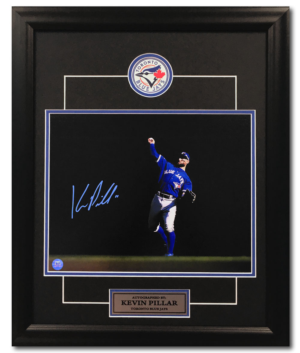 Primary image for Kevin Pillar Toronto Blue Jays Autographed Centre Field Spotlight 23x19 Frame