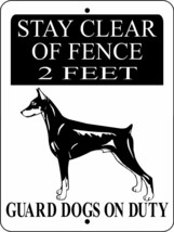 53 DOBERMAN PINSCHER ALUMINUM DOG SIGNS 9 X 12 - $14.49