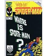 Web of Spider-Man #18 ORIGINAL Vintage 1986Marvel Comics 1st Cameo Eddie... - $37.21