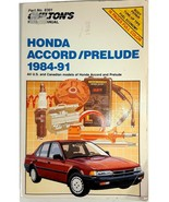 Chilton's 8301 Honda Accord Prelude 1984-1991 Repair Manual US Canada 08... - $10.95