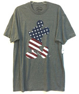 NWT Disney Mickey Mouse Flag Patriotic T-Shirt Tee Size XL Red White Blue - $25.62