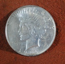 1927 D (Denver) US American AU Better Date Silver Dollar - $27.00