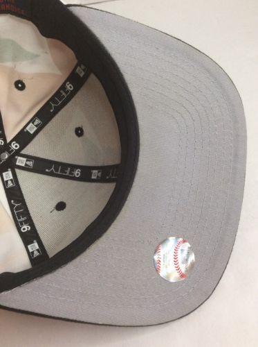 New Era 9Fifty MLB NY Yankees Black Multi Color Camo Original Fit Hat READ BELOW