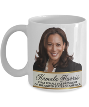 Kamala Harris First Female Vice President Coffee Mug Commemorative Mug 4... - $16.82+
